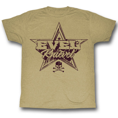 Image for Evel Knievel T-Shirt - Rock and Roll