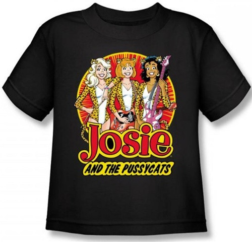 Image for Josie and the Pussycats Power Trio Kid's T-Shirt