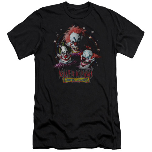 Image for Killer Klowns From Outer Space Premium Canvas Premium Shirt - The Klowns