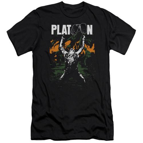 Image for Platoon Premium Canvas Premium Shirt - Graphic