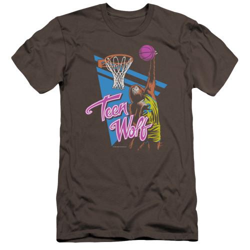 Image for Teen Wolf Premium Canvas Premium Shirt - Slam Dunk