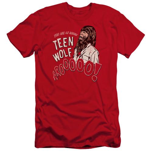Image for Teen Wolf Premium Canvas Premium Shirt - Animal