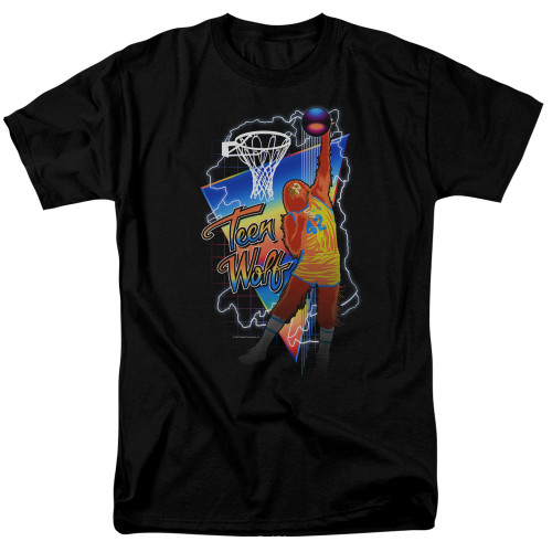 Image for Teen Wolf T-Shirt - Electric Wolf