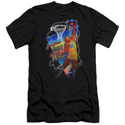 Image for Teen Wolf Premium Canvas Premium Shirt - Electric Wolf