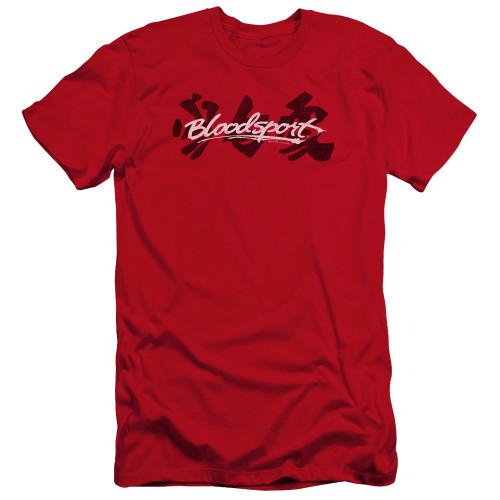 Image for Bloodsport Premium Canvas Premium Shirt - Kanji