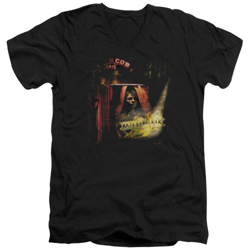 Image for MirrorMask V Neck T-Shirt - Big Top Poster