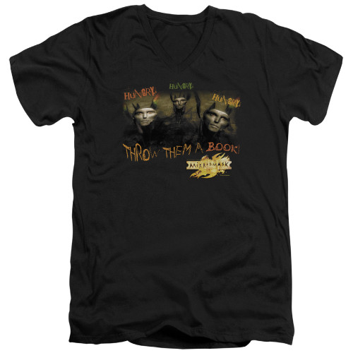 Image for MirrorMask V Neck T-Shirt - Hungry