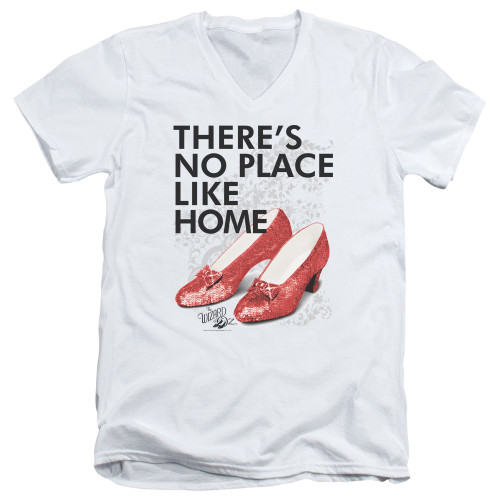 Image for The Wizard of Oz V Neck T-Shirt - No Place Like Home