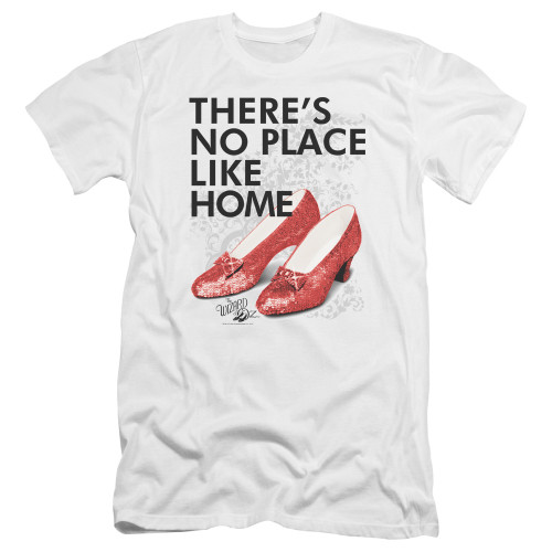 Image for The Wizard of Oz Premium Canvas Premium Shirt - No Place Like Home