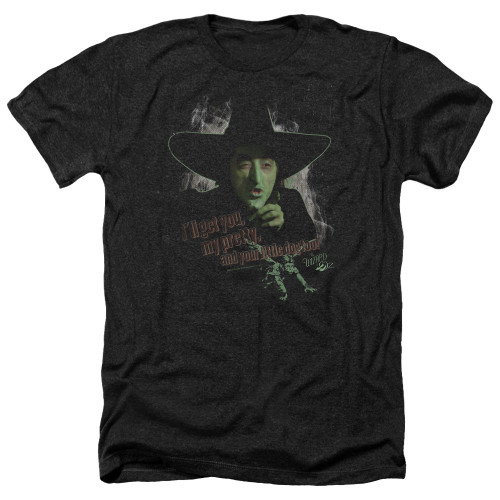 Image for The Wizard of Oz Heather T-Shirt - You and Your Little Dog Toto Too