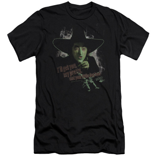 Image for The Wizard of Oz Premium Canvas Premium Shirt - You and Your Little Dog Toto Too
