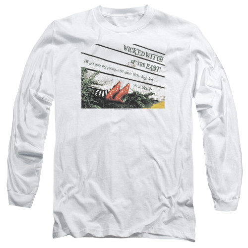Image for The Wizard of Oz Long Sleeve Shirt - Size 7