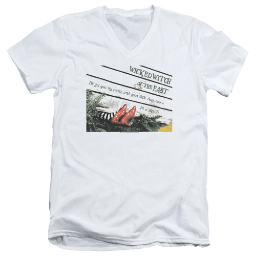 Image for The Wizard of Oz V Neck T-Shirt - Size 7