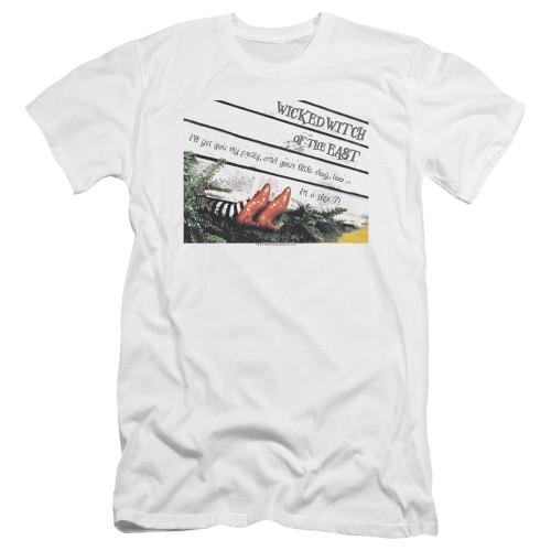 Image for The Wizard of Oz Premium Canvas Premium Shirt - Size 7