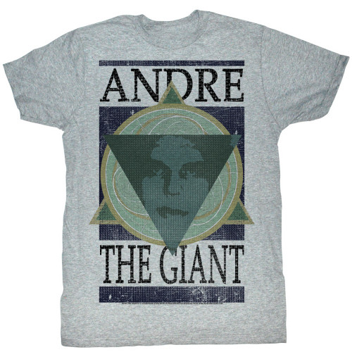 Image for Andre the Giant T-Shirt - Geometric