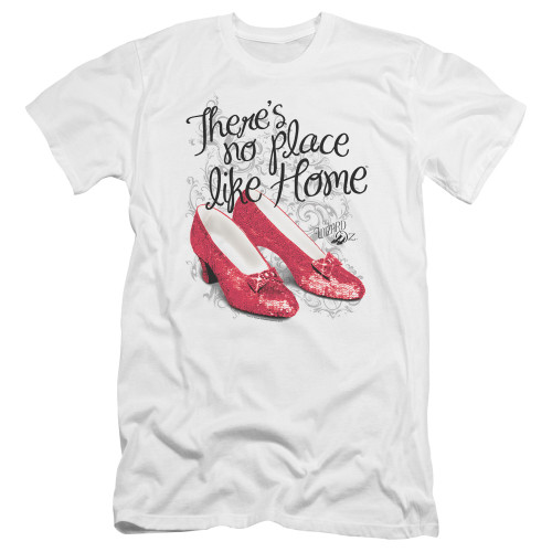 Image for The Wizard of Oz Premium Canvas Premium Shirt - Ruby Slippers