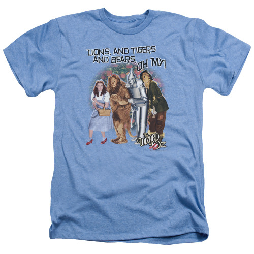 Image for The Wizard of Oz Heather T-Shirt - Oh My