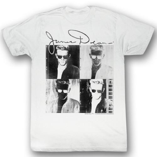 Image for James Dean T-Shirt - Four Block