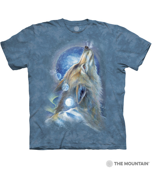 Image for The Mountain T-Shirt - Wolf Howl