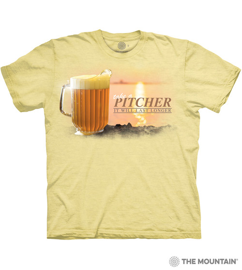 Image for The Mountain T-Shirt - Take a Pitcher