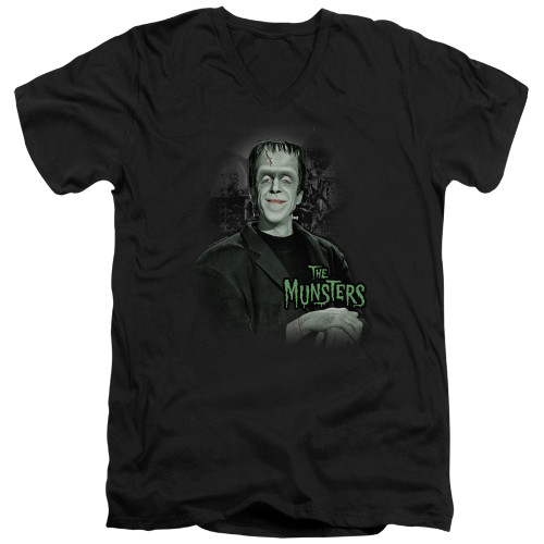 Image for The Munsters T-Shirt - V Neck - Man of the House
