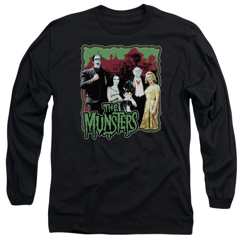 Image for The Munsters Long Sleeve T-Shirt - Normal Family