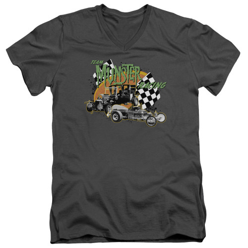 Image for The Munsters T-Shirt - V Neck - Munsters Racing