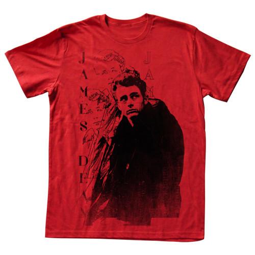 Image for James Dean T-Shirt - College Dean