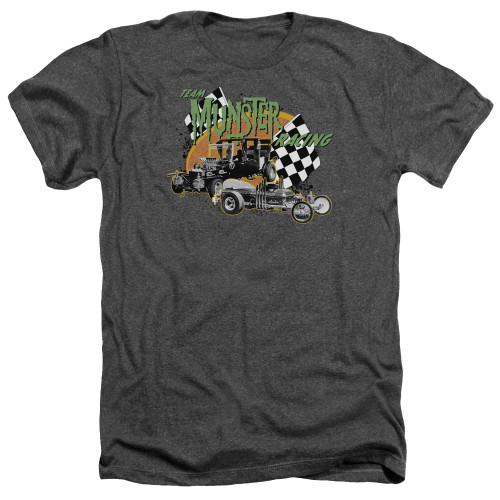 Image for The Munsters Heather T-Shirt - Munsters Racing