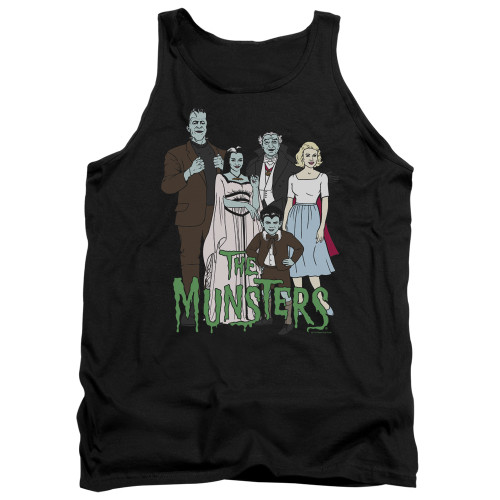 Image for The Munsters Tank Top - The Family