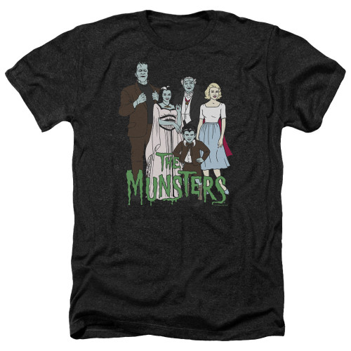 Image for The Munsters Heather T-Shirt - The Family