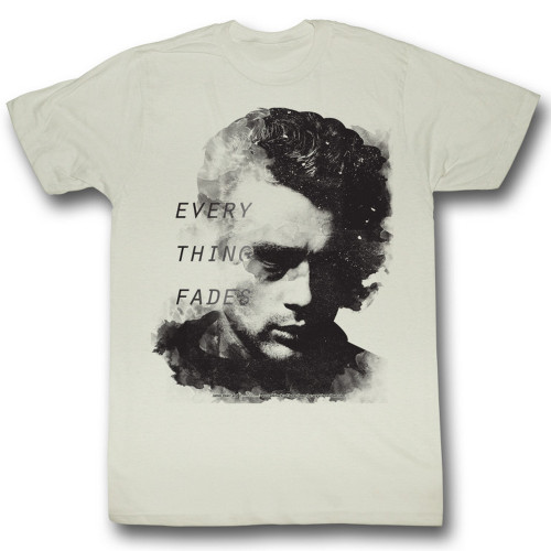 Image for James Dean T-Shirt - Everything Fades