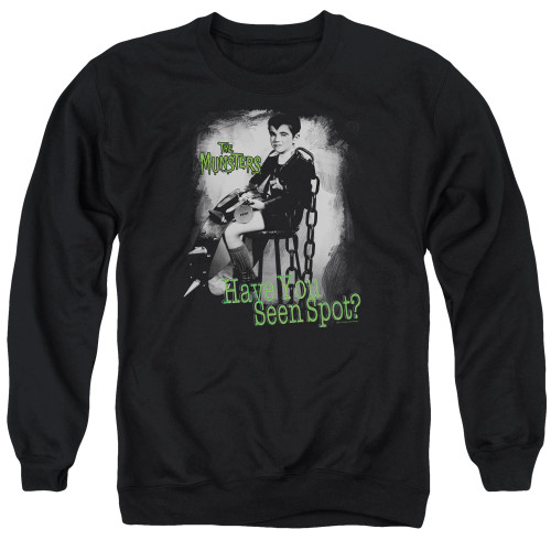 Image for The Munsters Crewneck - Have You Seen Spot?