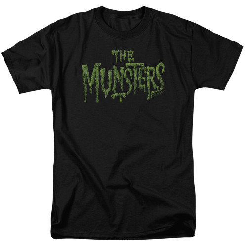 Image for The Munsters T-Shirt - Distress Logo