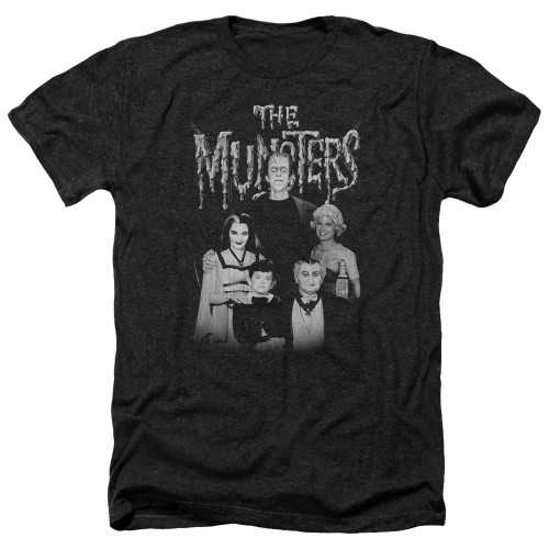 Image for The Munsters Heather T-Shirt - Family Portrait