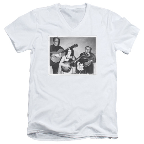 Image for The Munsters T-Shirt - V Neck - Play It Again