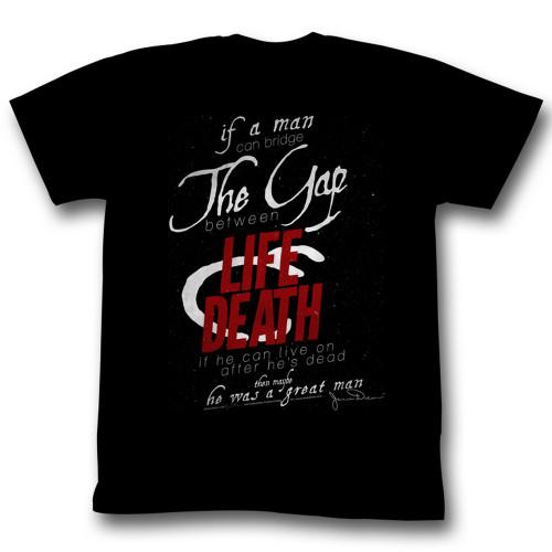Image for James Dean T-Shirt - Life & Death