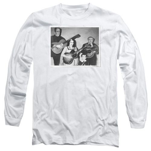 Image for The Munsters Long Sleeve T-Shirt - Play It Again