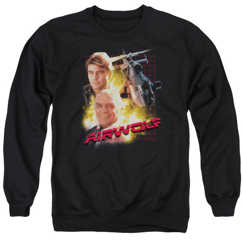 Image for Airwolf Crewneck - Poster
