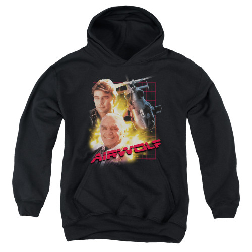 Image for Airwolf Youth Hoodie - Poster