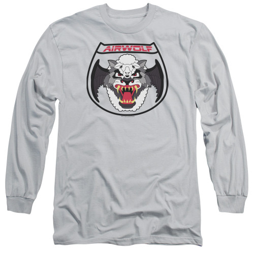 Image for Airwolf Long Sleeve T-Shirt - Patch