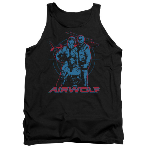 Image for Airwolf Tank Top - Graphic