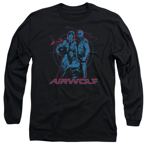 Image for Airwolf Long Sleeve T-Shirt - Graphic