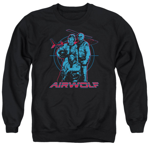 Image for Airwolf Crewneck - Graphic
