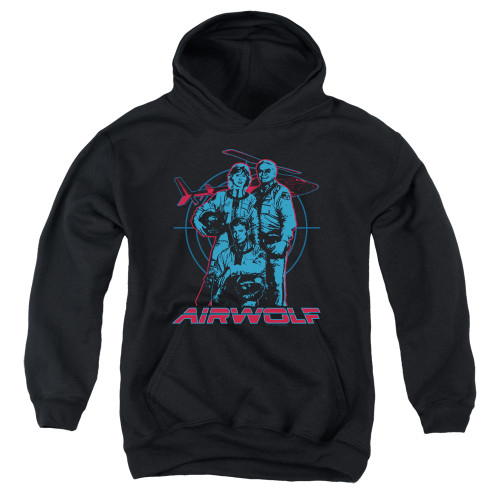 Image for Airwolf Youth Hoodie - Graphic