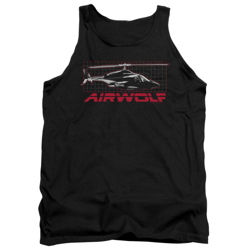 Image for Airwolf Tank Top - Grid