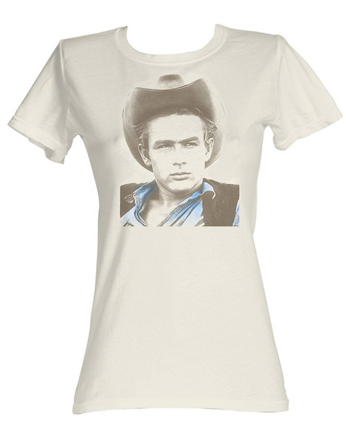 Image for James Dean Girls T-Shirt - Icon