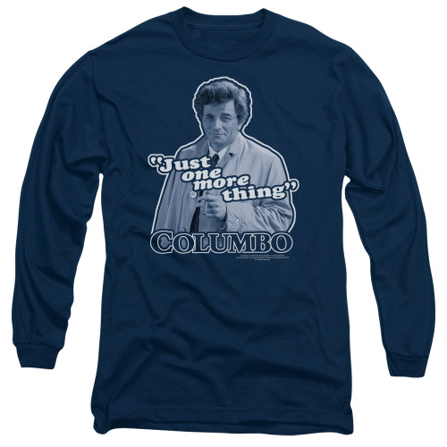 Image for Columbo Long Sleeve T-Shirt - Just One More Thing