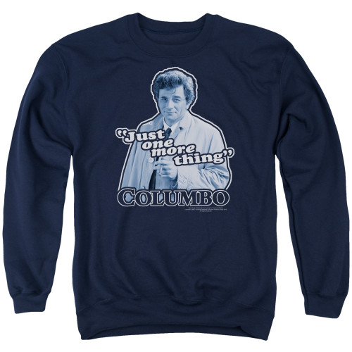 Image for Columbo Crewneck - Just One More Thing