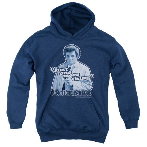 Image for Columbo Youth Hoodie - Just One More Thing